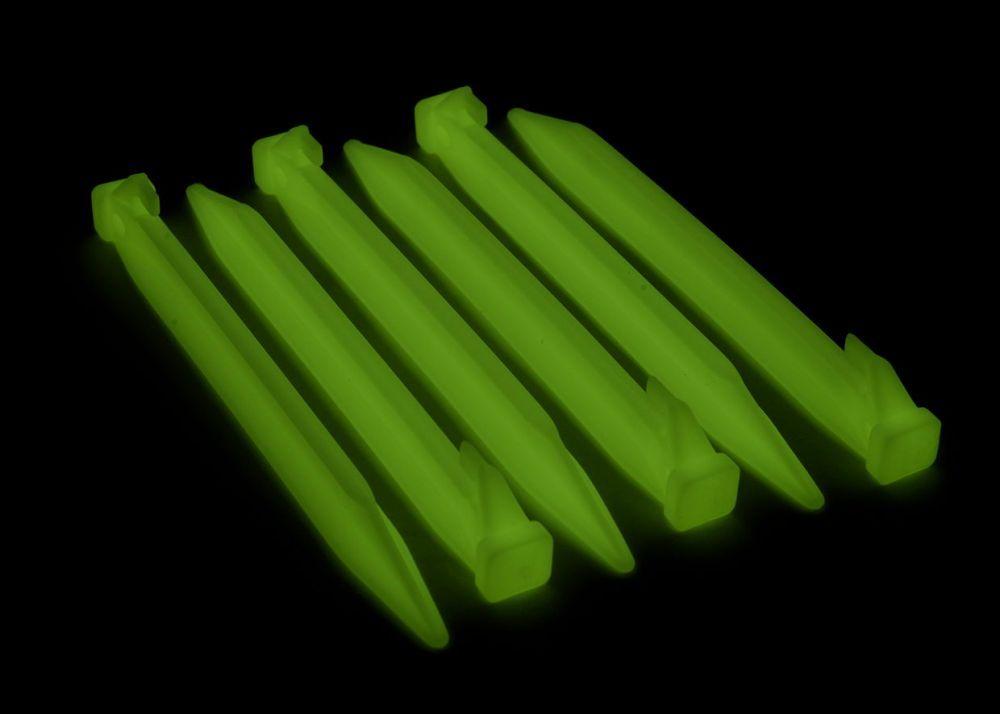 fluoreszkaló sátorcövek