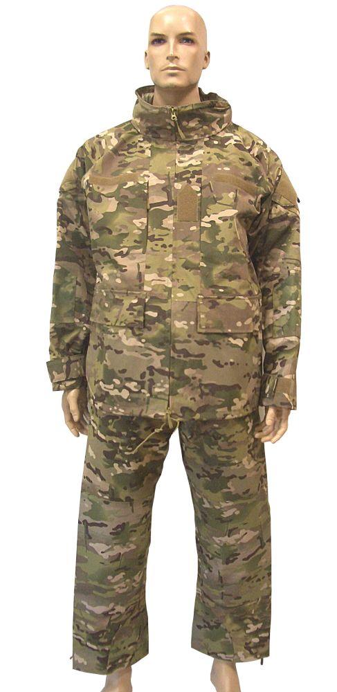 Terepmintás esővédő öltöny