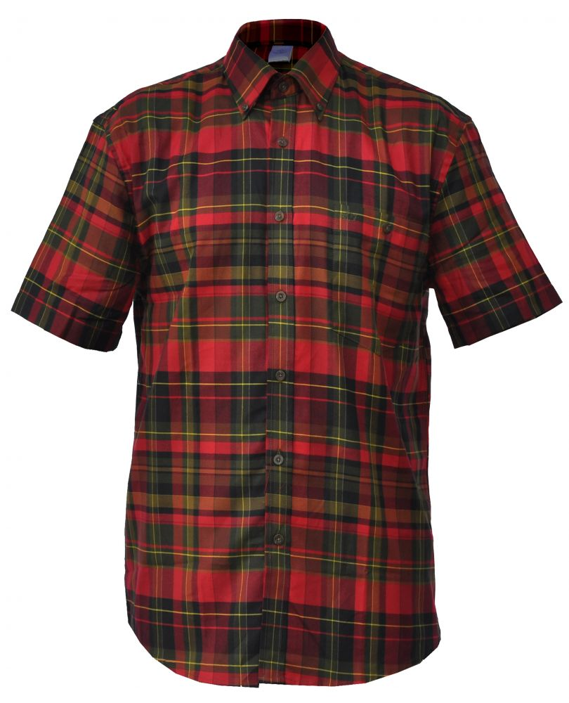 rövid ujjú férfi pamut ing
