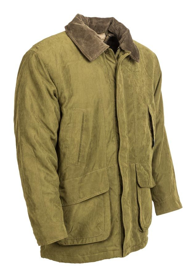 mikroszalás galléros férfi kabát