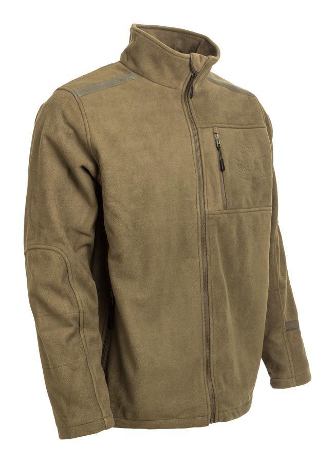 cipzáros fleece pulóver