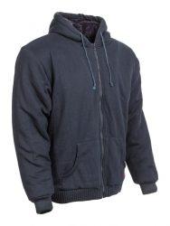 bélelt kapucnis pulóver