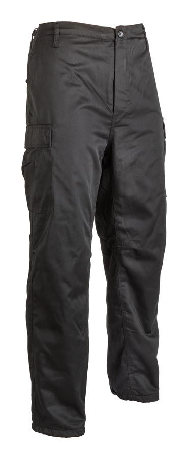 Fekete bélelt nadrág