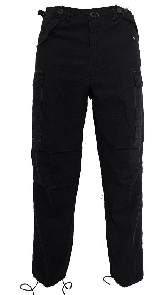 fekete gyakorló nadrág