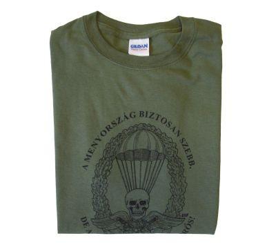 ejtőernyős pamut póló