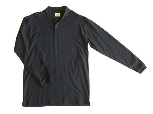 fekete hosszú póló