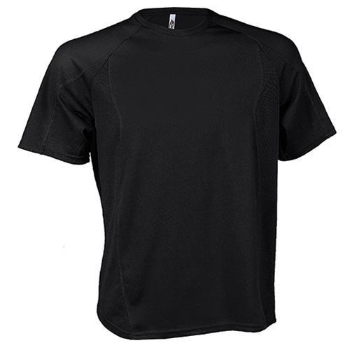 fekete sport póló