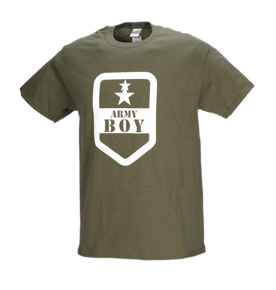 férfi army boy póló