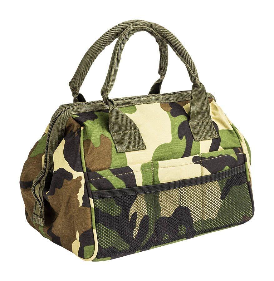 terepszínű szerszámos táska