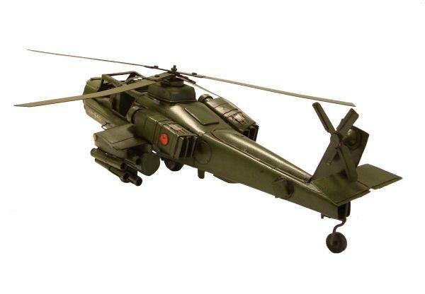 fém modell helikopter