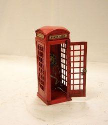 telefonfülke dísz