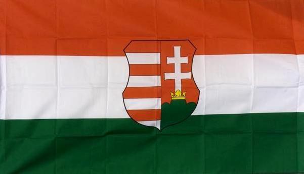 kossuth címeres magyar zászló