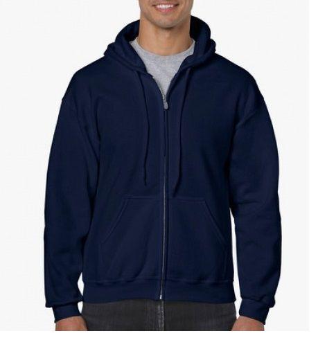 zipzáros kapucnis pulóver