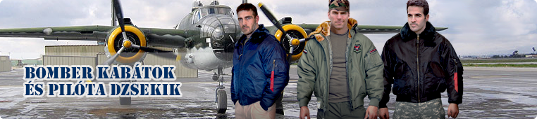 amerikai pilóta dzseki, katonai kabátok