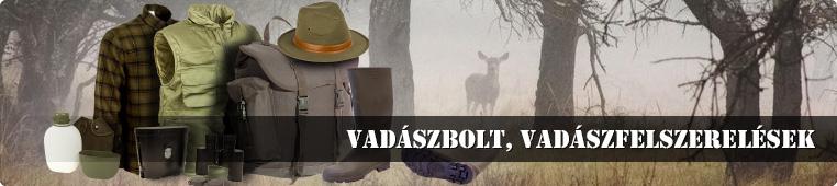 vadászbolt. vadászfelszerelés, tereptarka.hu