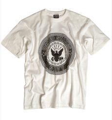 fehér NAVY póló - tereptarka.hu - army shop - pólók