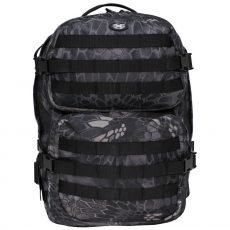 fekete terep hátizsák