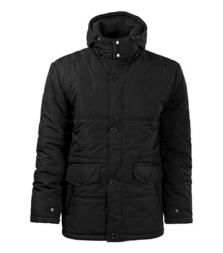 fekete férfi téli kabát - tereptarka.hu army shop ca53b67473