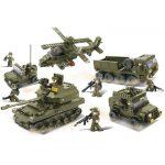 játék hadsereg építőkockából
