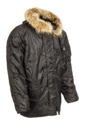 katonai hosszú téli kabát