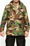 Woodland terepmintás M65 kabát