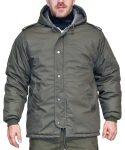 kapucnis téli kabát