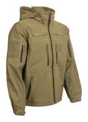 kapucnis cipzaras taktikai softshell dzseki