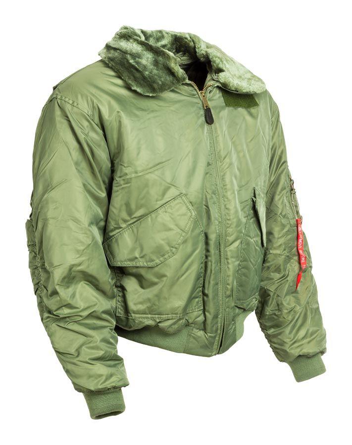 szőrmegalléros férfi CWU kabát - military shop c31aaa2830