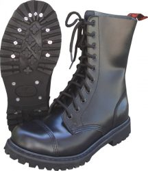 10-HOLE RED ROOSTER BOOTS GRAIN
