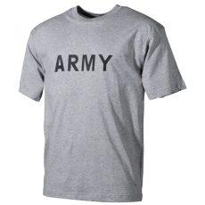 szürke army póló