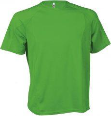 zöld sport póló