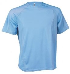 kék sport póló