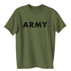 zöld army póló - tereptarka.hu