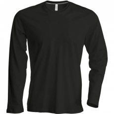 fekete hosszú ujjú póló - tereptarka.hu - armyshop - pólók