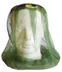 szúnyoghálós fejvédő