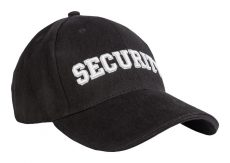 "BASEBALL SAPKA 3D ""SECURITY"" FEKETE"