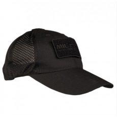 fekete taktikai baseball sapka - tereptarka.hu - army shop