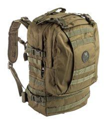 zöld taktikai hátizsák
