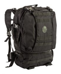 fekete taktikai hátizsák