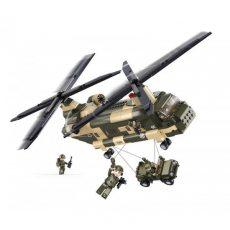 Katonai szállító helikopter játék