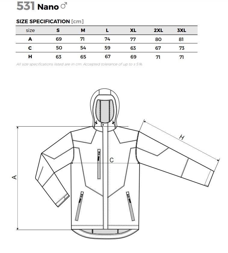 Kabát mérettáblázat