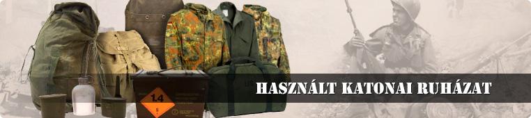 Használt katonai ruházat - Tereptarka.hu, Budapest,